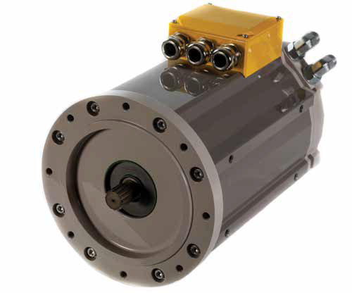 Parker GVM210-400 Electric Vehicle AC Traction Motor 650 VDC